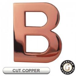 Gemini Flat CUT COPPER Sign Letters