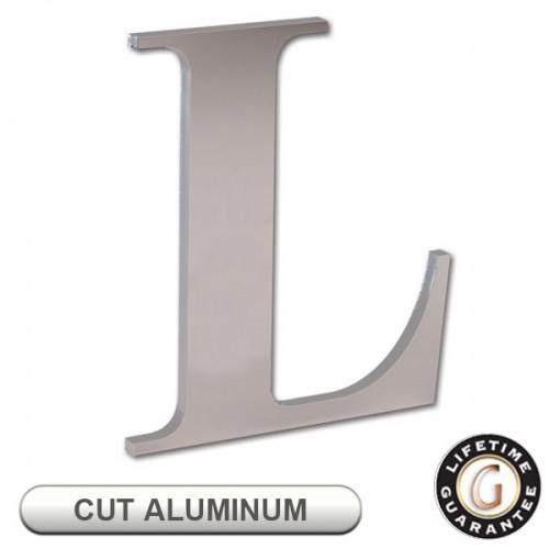 Gemini Flat CUT ALUMINUM Sign Letters