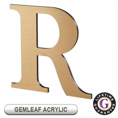 Gemini GEMLEAF on ACRYLIC Display Sign Letters