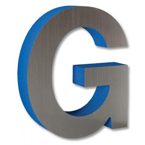 Gemini METAL LAMINATE on FOAM Display Sign Letters