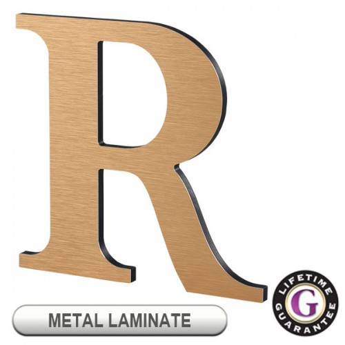 Gemini METAL LAMINATE on ACRYLIC Display Sign Letters