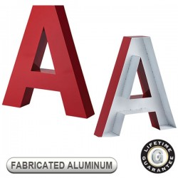 Gemini FABRICATED ALUMINUM Sign Letters