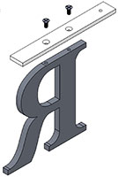 top rail mount